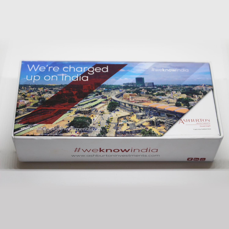 Ashburton Investments Custom Powerbank Packaging