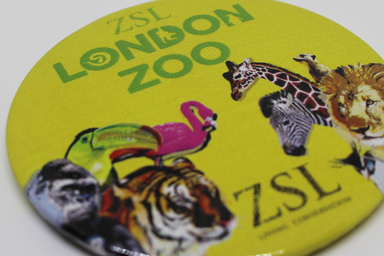 London Zoo Branded Badge