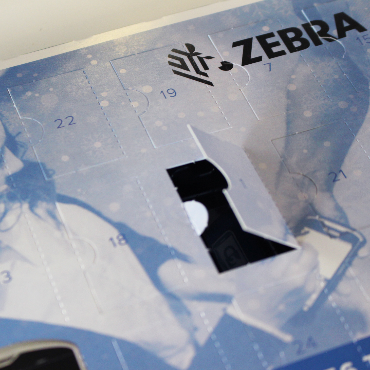 Zebra Custom Branded Advent Calendar