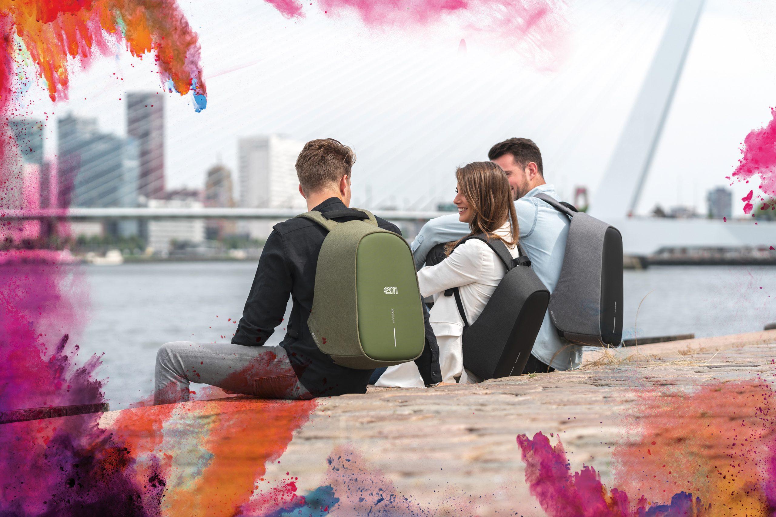 RPET promo backpacks