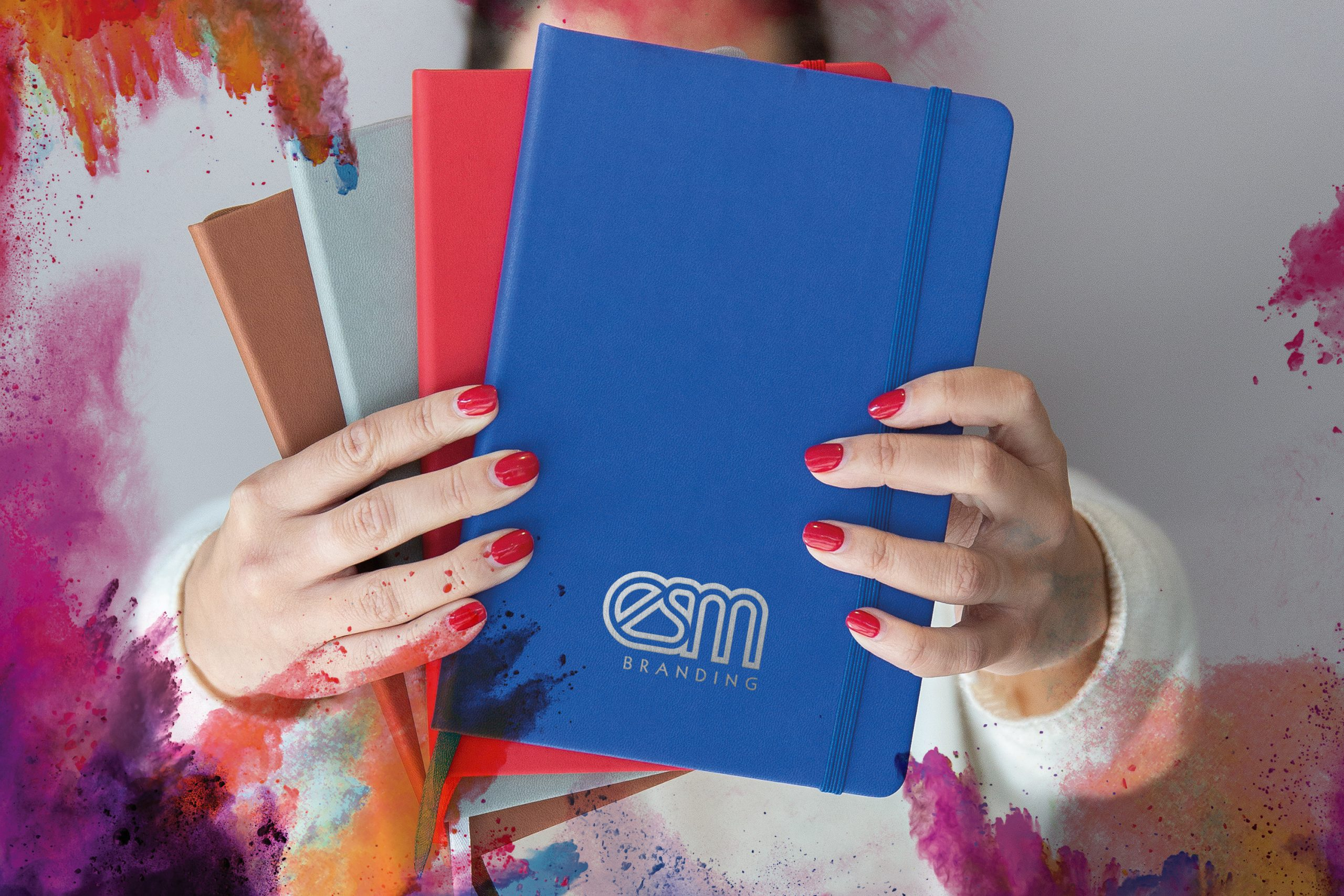 Promotional notebooks for universities
