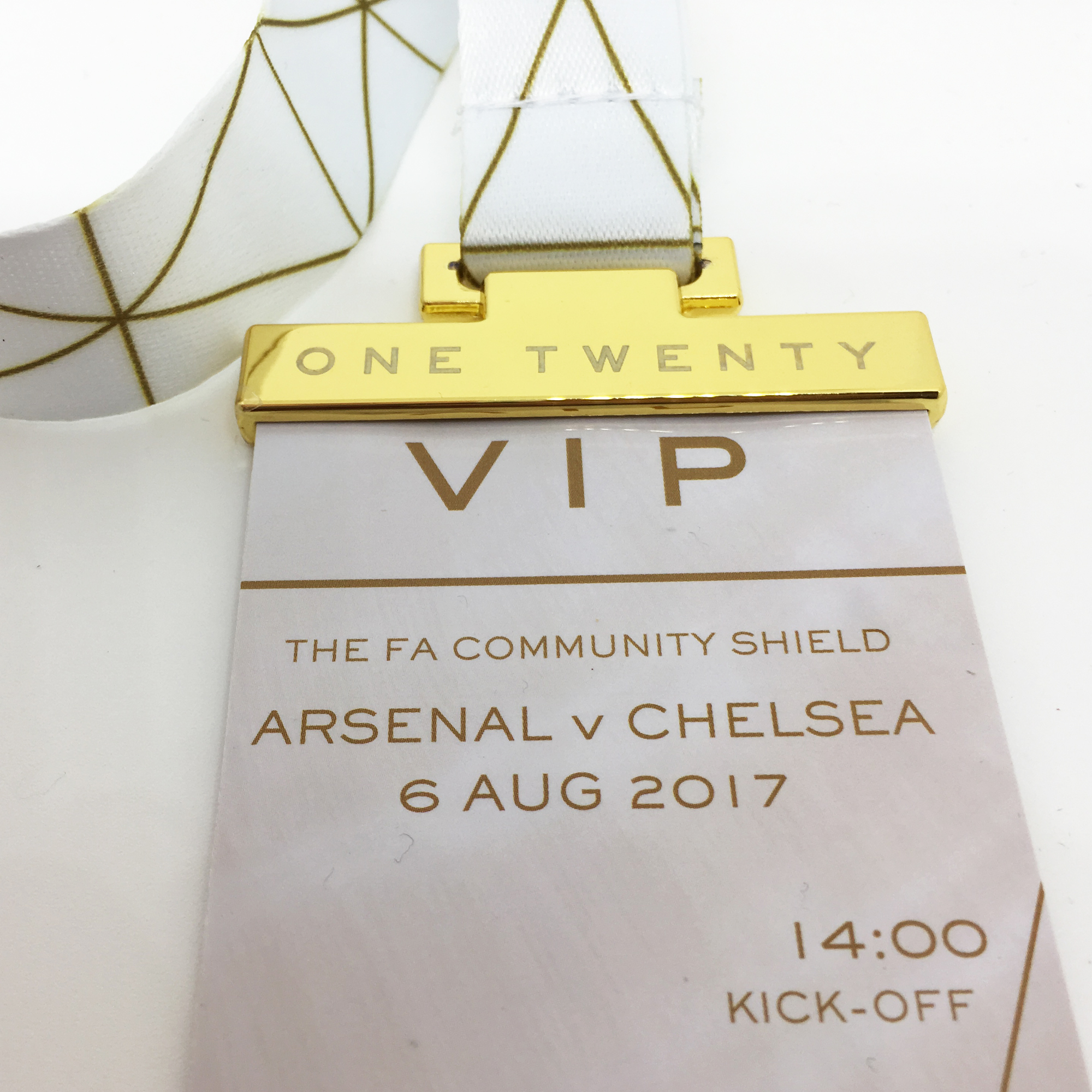 Luxury Event Lanyards