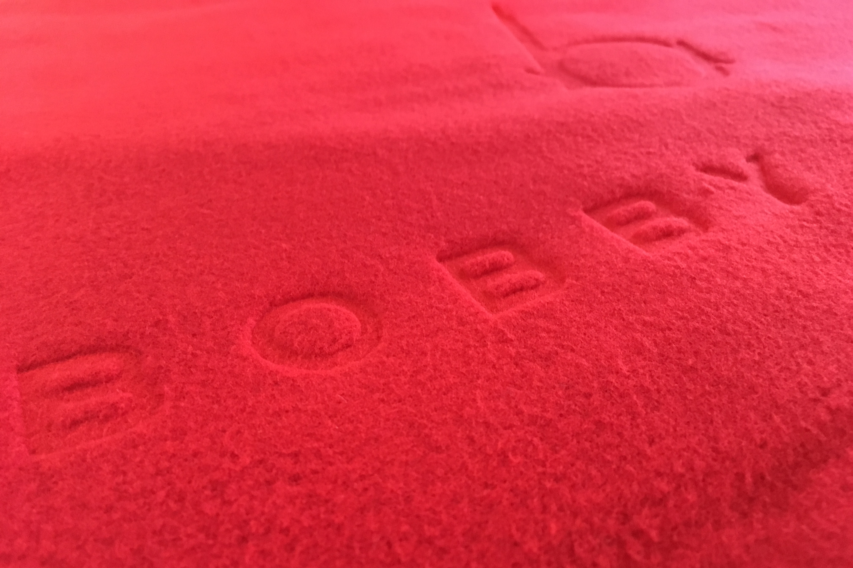 Custom Embossed Blankets