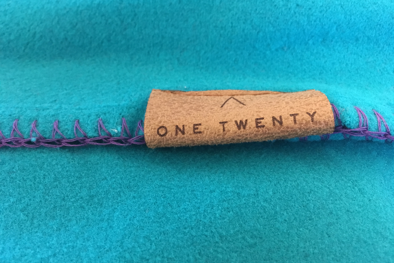 One Twenty Custom Embossed Blankets